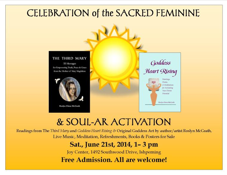 Celeb of Sacred Feminine flyer