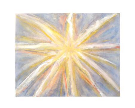 Dawn Star, 8 x 10, brighter
